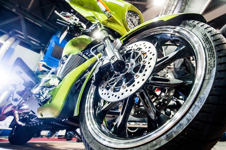 Motorräder für eingefleischte Motorradfahrer, Neulinge oder Wiedereinsteiger bietet die Motorrad Show.