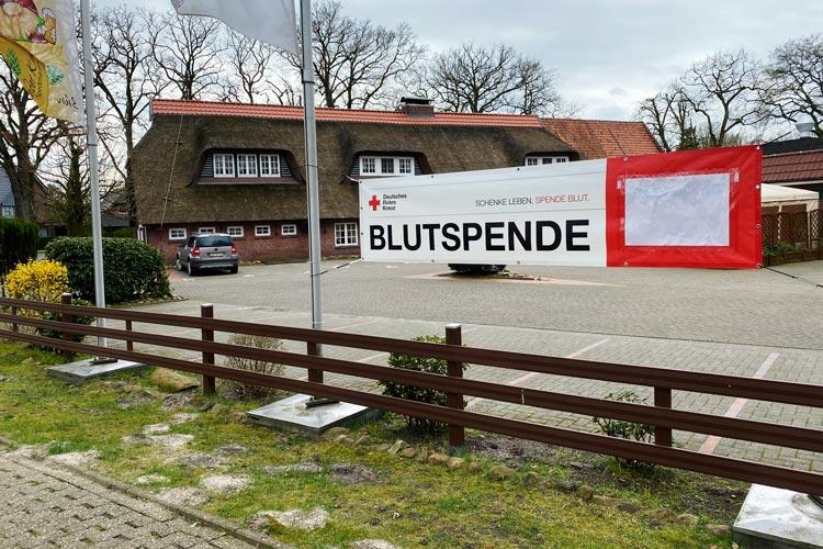 Auch in Zeiten der Grippewelle und aktuell des Coronavirus benötigen die Blutspendedienste des Deutschen Roten Kreuzes dringend Blutspenden.
