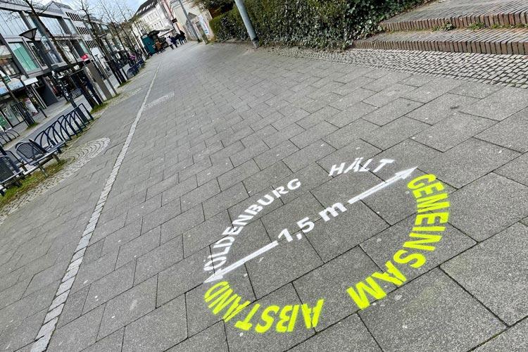 Anhaltender Inzidenzwert über 100 zwingt die Stadt Oldenburg zum Handeln.