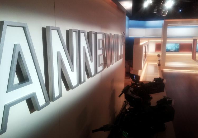 ARD-Fernsehstudio ´Anne Will´, über dts Nachrichtenagentur