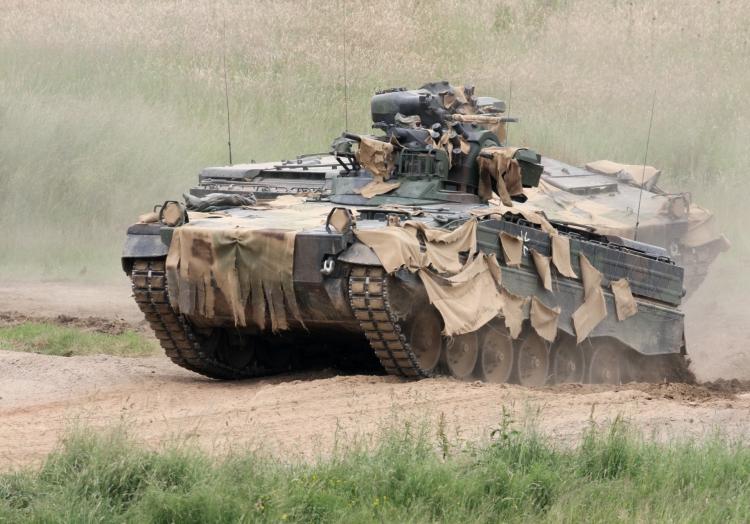 Bundeswehr-Panzer ´Marder´, über dts Nachrichtenagentur