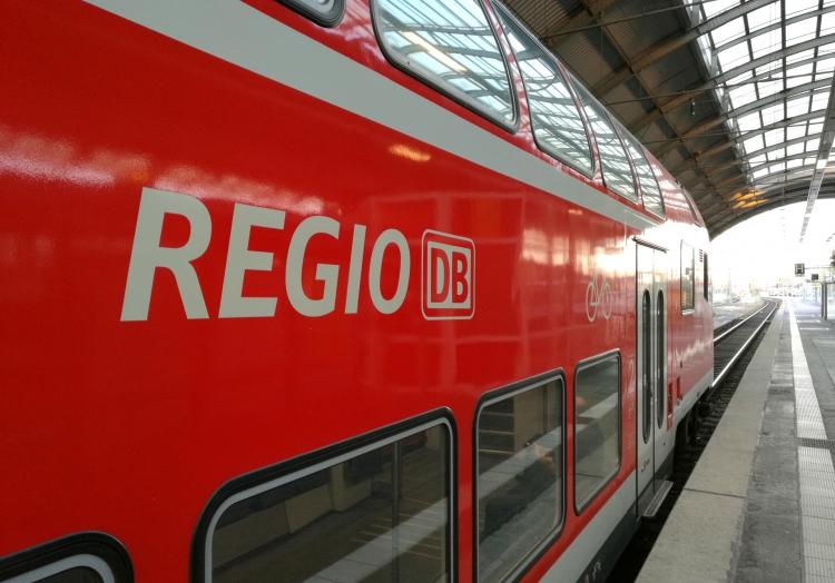 Regionalzug der Deutschen Bahn, über dts Nachrichtenagentur