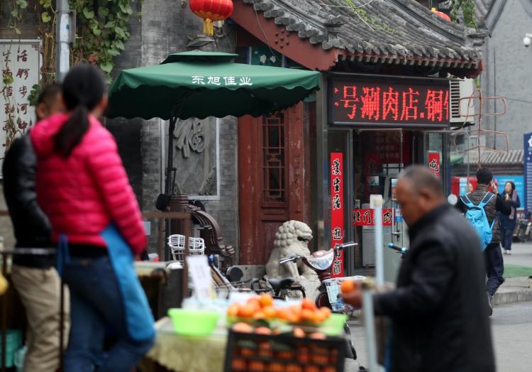 Markt in Peking, über dts Nachrichtenagentur
