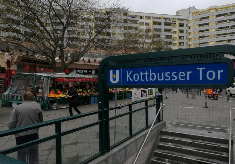 Kottbusser Tor in Berlin-Kreuzberg, über dts Nachrichtenagentur