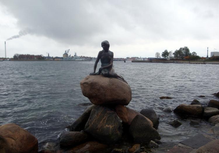 Kleine Meerjungfrau in Kopenhagen, über dts Nachrichtenagentur