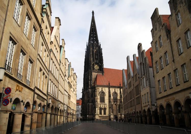 Lambertikirche in Münster, über dts Nachrichtenagentur