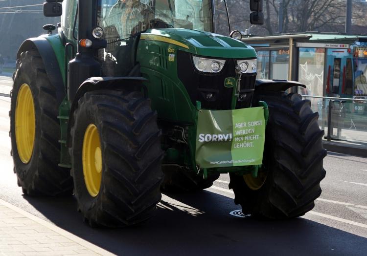 Bauernprotest, über dts Nachrichtenagentur