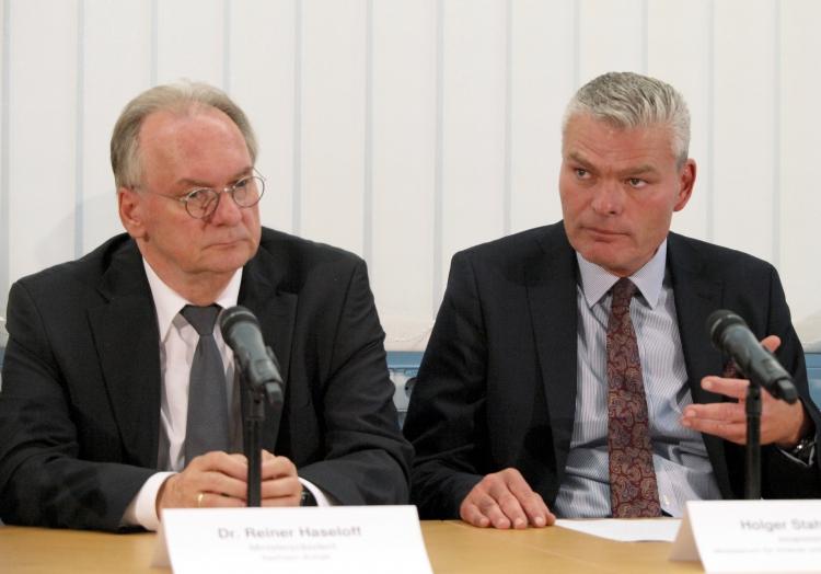 Reiner Haseloff und Holger Stahlknecht, über dts Nachrichtenagentur