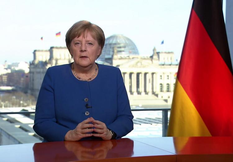 Merkels Fernsehansprache am 18.03.2020, über dts Nachrichtenagentur
