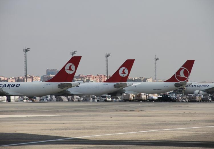 Flugzeuge der Turkish Airlines, über dts Nachrichtenagentur
