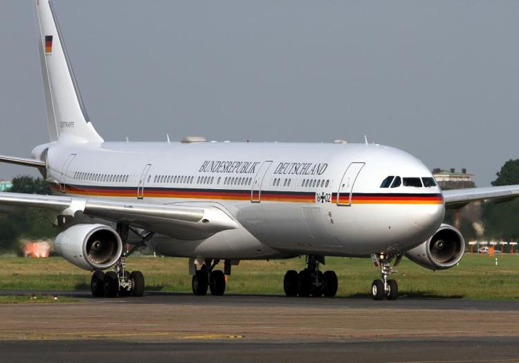 Regierungsjet A340-313X VIP ´Theodor Heuss´ der Luftwaffe, über dts Nachrichtenagentur