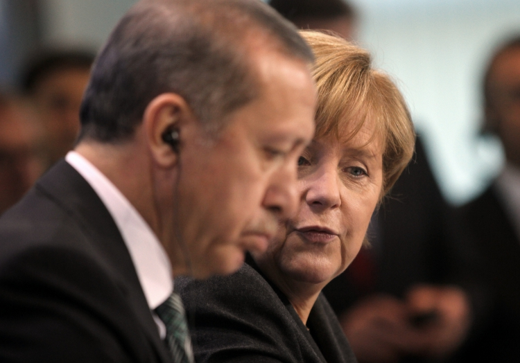 Recep Tayyip Erdogan und Angela Merkel, über dts Nachrichtenagentur