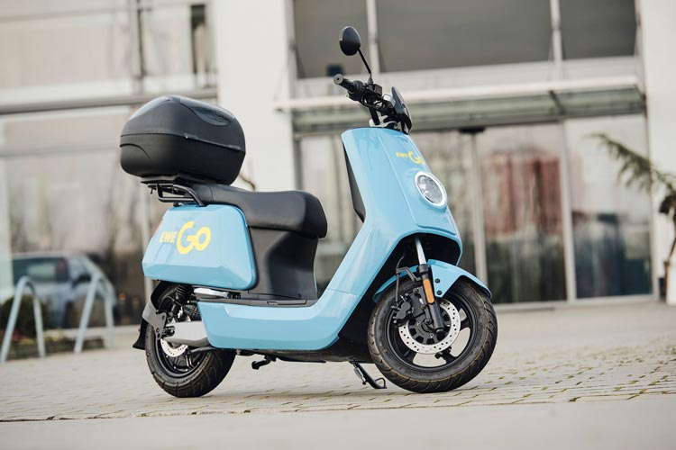 Die EWE stellt ab dem 27. März die Go Elektro-Motorroller kostenlos zur Verfügung.