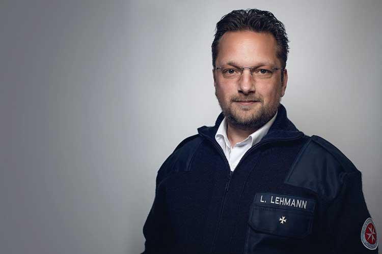 Lukas Lehmann engagiert sich trotz der beruflich schwierigen Situation für das Gemeinwohl.