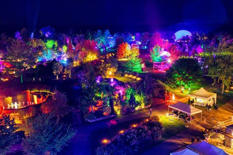 Der Kartenvorverkauf für Mystische Nächte im Park der Gärten hat begonnen