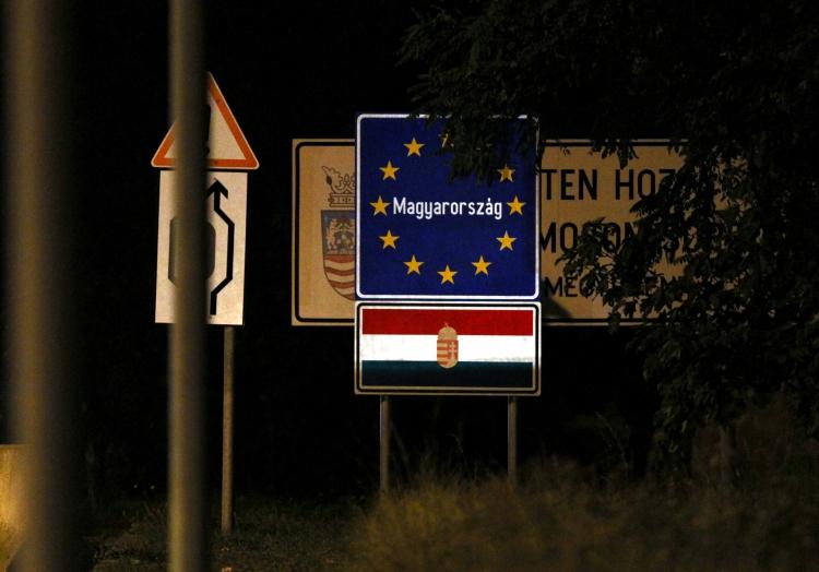 Ungarischer Grenzübergang, über dts Nachrichtenagentur