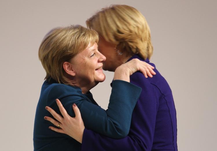 Angela Merkel und Julia Klöckner, über dts Nachrichtenagentur