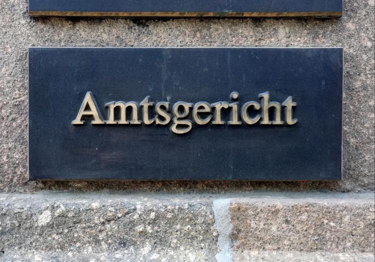 Amtsgericht, über dts Nachrichtenagentur