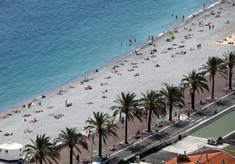 Strandpromenade in Nizza, über dts Nachrichtenagentur