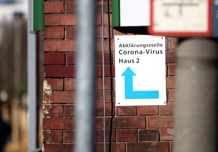 Corona-Testzentrum, über dts Nachrichtenagentur