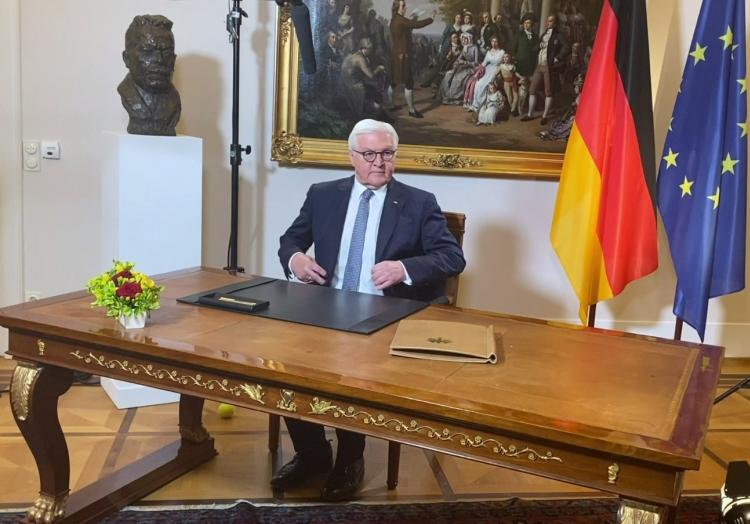 Frank-Walter Steinmeier am 11.04.2020, über dts Nachrichtenagentur