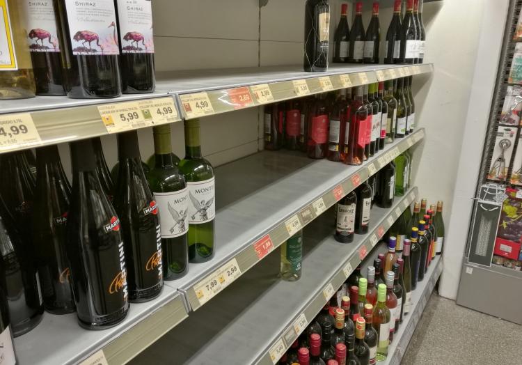 Hamsterkäufe bei Alkohol, über dts Nachrichtenagentur