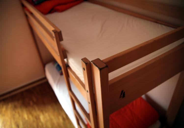 Doppelstockbett in einer Jugendherberge, über dts Nachrichtenagentur