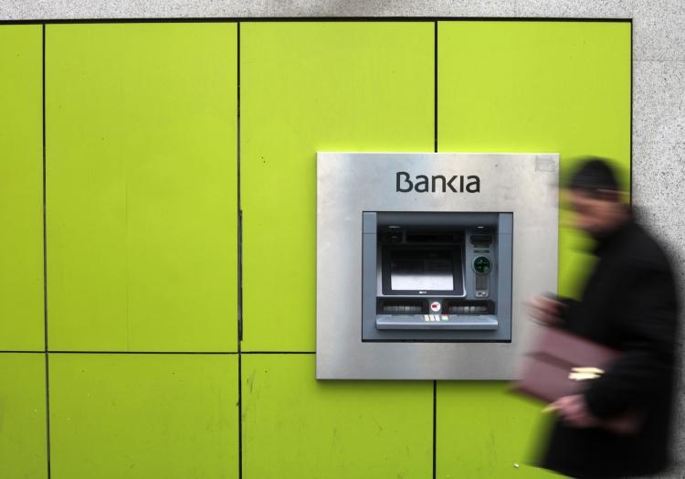 Geldautomat der Bankia-Bank in Spanien, über dts Nachrichtenagentur