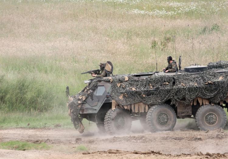 Bundeswehr-Panzer ´Fuchs´, über dts Nachrichtenagentur