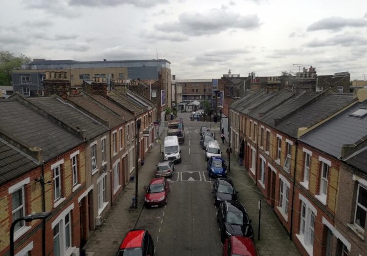 Wohnsiedlung in einem Vorort von London, über dts Nachrichtenagentur