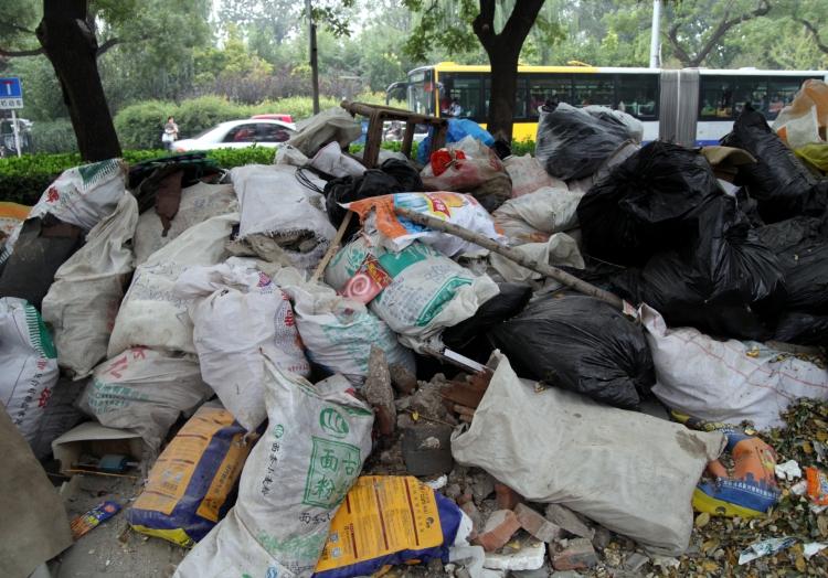 Müllberg in Peking, über dts Nachrichtenagentur