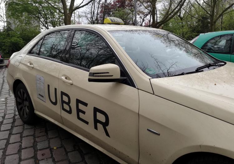 Uber-Taxi, über dts Nachrichtenagentur