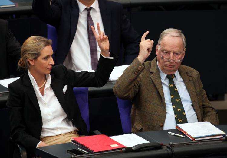 Alice Weidel und Alexander Gauland, über dts Nachrichtenagentur