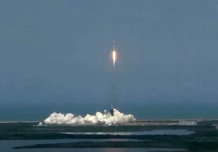 Start von SpaceX-Raumschiff am 30.05.2020, über dts Nachrichtenagentur