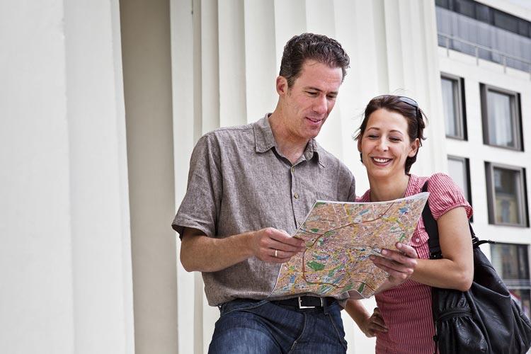 Neben den öffentlichen Stadtführungen sind nun auch private Gruppenführungen bis zu zehn Personen wieder möglich. Auch hier gelten die Auflagen.