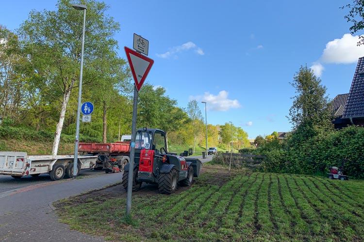 In dieser Woche beginnt die Stadtverwaltung mit der Herstellung von sechs weiteren insektenfreundlichen Wildblumenwiesen in Oldenburg.