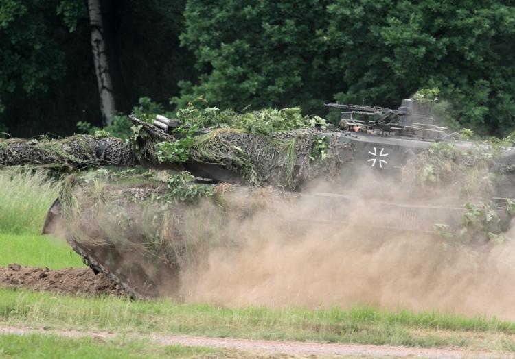Bundeswehr-Panzer ´Leopard 2´, über dts Nachrichtenagentur