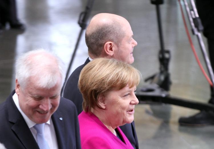 Seehofer, Merkel und Scholz, über dts Nachrichtenagentur