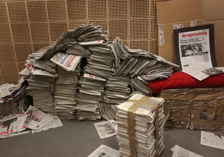 taz-Ausgaben, über dts Nachrichtenagentur