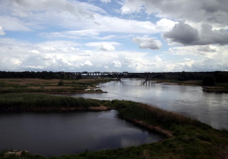 Fluss Oder an der Grenze Deutschland - Polen, über dts Nachrichtenagentur
