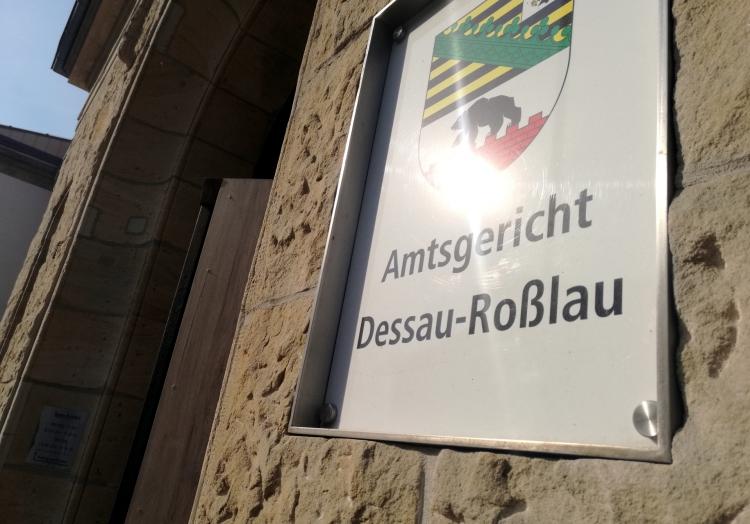 Amtsgericht Dessau-Roßlau, über dts Nachrichtenagentur