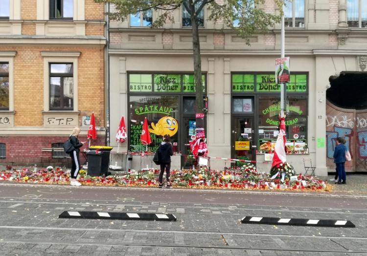 Trauer nach Anschlag in Halle, über dts Nachrichtenagentur