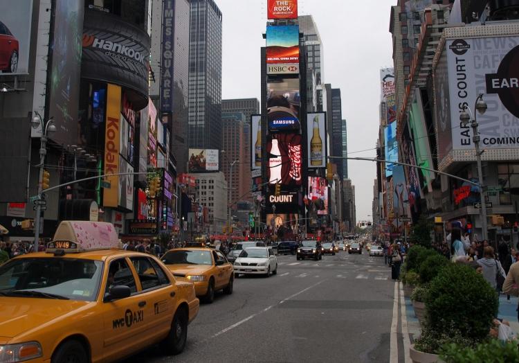 Times Square in New York, über dts Nachrichtenagentur