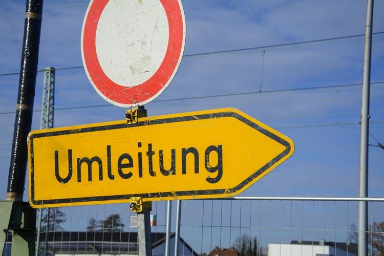 Die Niedersächsische Landesbehörde für Straßenbau und Verkehr beginnt mit der Teilsperrung der Autobahn 293.
