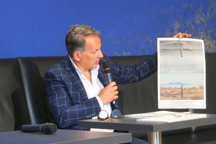 """Der Kinofilm """"Winter Journey"""" mit Bruno Ganz in seiner letzten Hauptrolle zeigt das Leben der jüdischen Familie Goldschmidt aus Oldenburg. Die Deutschlandpremiere im Oldenburgischen Staatstheater ist am 6. September mit zahlreichen Gästen."""