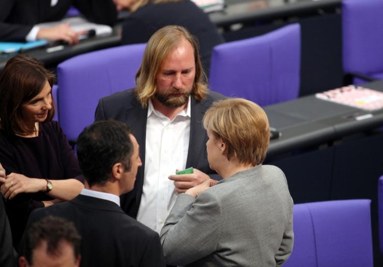 Merkel mit Özdemir, Göring-Eckardt, Hofreiter, über dts Nachrichtenagentur