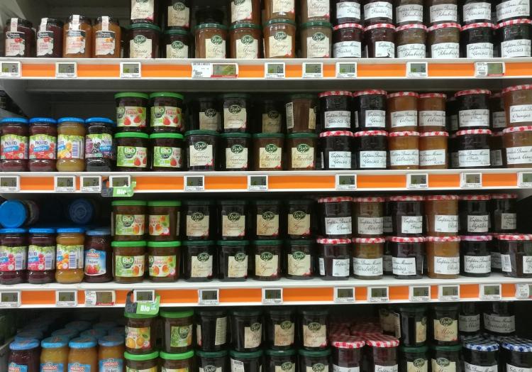 Marmelade im Supermarkt, über dts Nachrichtenagentur