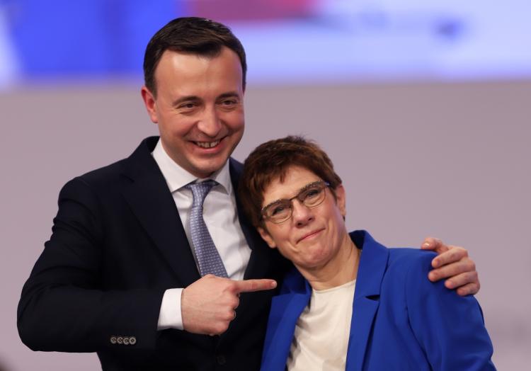 Paul Ziemiak und Annegret Kramp-Karrenbauer, über dts Nachrichtenagentur