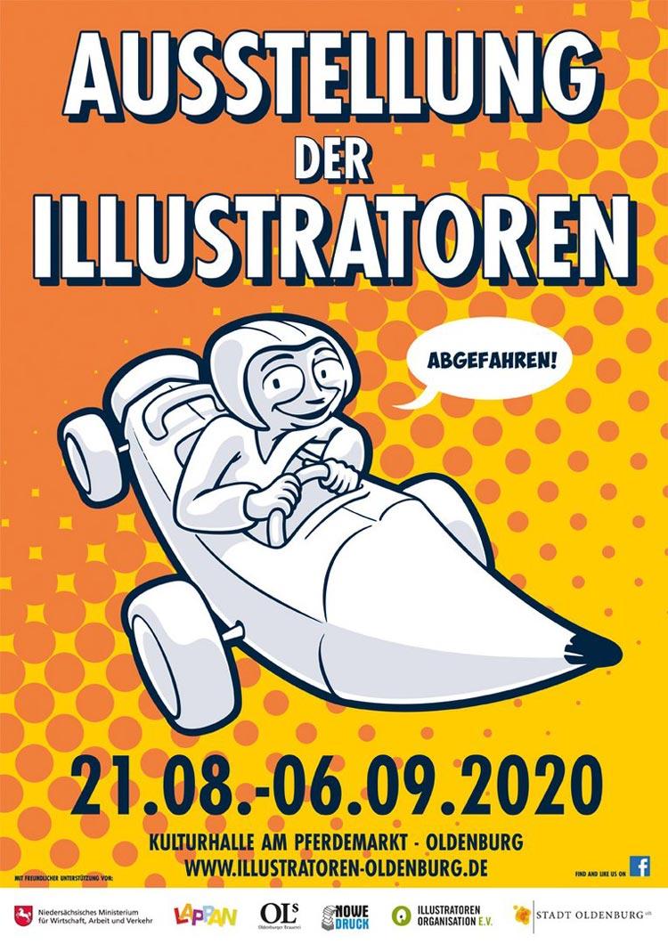 Das Veranstaltungsplakat von Norbert Egdorf.