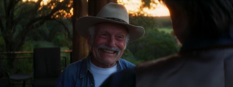 """Sonny Carl Davis spielt in Ben Epsteins Spielfilmdebüt """"Buck Alamo"""" den gleichnamigen Lebemann und Countrymusiker auf der letzten Reise seines Lebens."""